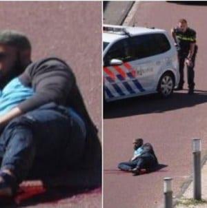 Sprawca ataku w Hadze aresztowany