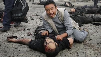 Izrael użył gazu łzawiącego i granatów ogłuszających przeciwko protestującym Palestyńczykom