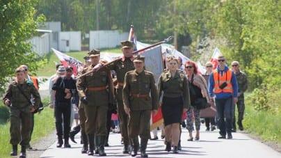Uroczystości 73. rocznicy wyzwolenia niemieckiego obozu koncentracyjnego przez polskich żołnierzy z Brygady Świętokrzyskiej NSZ