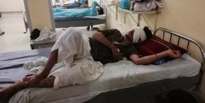 Dramatyczne nagranie z Pakistanu. Cudem uniknął śmierci podczas trzęsienia ziemi [WIDEO]