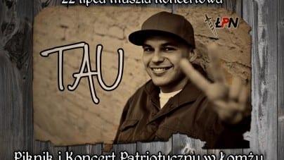 [ZAPROSZENIE] Tau pierwszą gwiazdą wieczoru podczas Pikniku Koncertu Patriotycznego w Łomży!