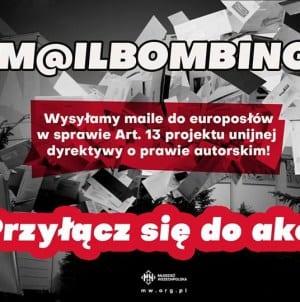 [WYDARZENIE] Mailbombing przeciw ACTA 2.0 – Stop cenzurze Internetu!
