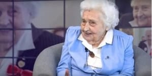 Kpt. Maria Mirecka-Loryś obchodzi dzisiaj 103 urodziny