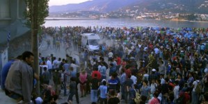 Zamieszki, samobójstwa, wszy i głód. Imigranci w Grecji