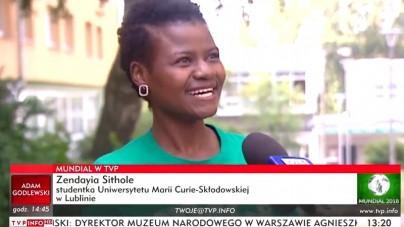 """Fanka Senegalu z Lublina: """"Nie bałam się przyjść sama, bo wiem że szanujecie kobiety"""""""