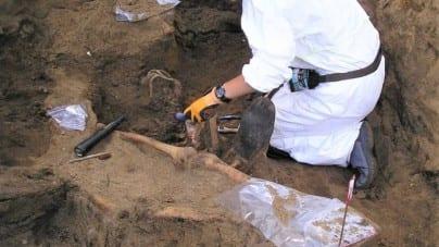 W Bydgoszczy odnaleziono szczątki. Strzały w głowę podobne do tych w Katyniu