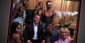 Transseksualiści w Pałacu Elizejskim. Macron wywołał kontrowersje