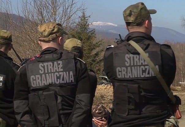 Ukraińcy przyłapani na nielegalnym przekraczaniu granicy