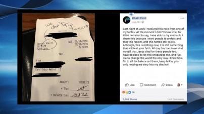 21-letni kelner podał się za ofiarę rasizmu – śledztwo wykazało, że wszystko wymyślił