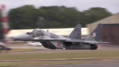 Katastrofa polskiego myśliwca MiG-29