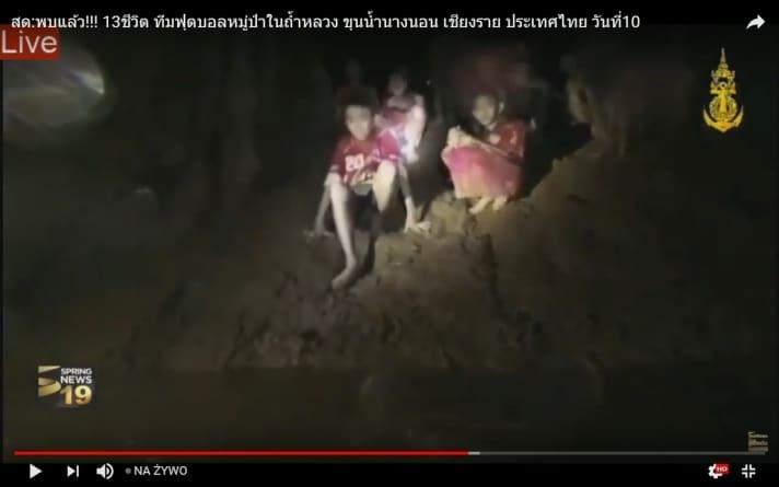 W Tajlandii zakończono akcję ratunkową dla chłopców uwięzionych w jaskini