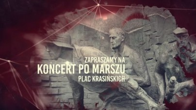 Zaproszenie na koncert po Marszu Powstania Warszawskiego (Basti i Klipo, Sova, Karat NM, Egon) [WIDEO]
