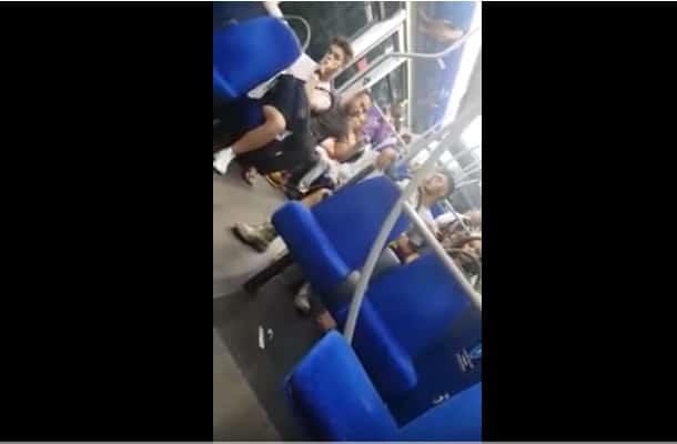 Wlk. Brytania: Nagrano atak na Polaka w autobusie!