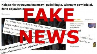"""Antyklerykalny fake news. Wątpliwe zachowanie """"Wyborczej"""""""