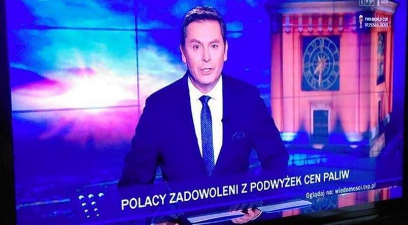 """TVP przekonuje: """"Polacy zadowoleni z podwyżek cen paliw"""""""