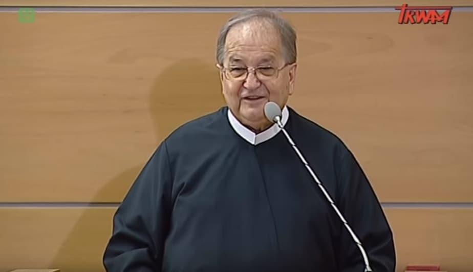 O. dr Tadeusz Rydzyk, założyciel i dyrektor Radia Maryja.