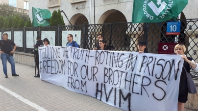 "ONR solidarny z węgierskimi narodowcami: ""HVIM to nasi bracia"""