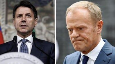 Premier Włoch do Tuska: Mój kraj nie będzie dalej brał na siebie ciężaru przyjmowania imigrantów