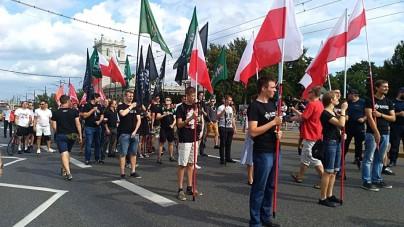 Marsz Zwycięstwa Rzeczypospolitej i awantura Obywateli RP [WIDEO]