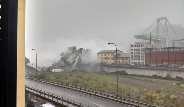 Zawalił się most w Genui. 35 osób nie żyje