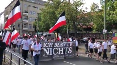 Neonaziści uczcili w Berlinie rocznicę śmierci zastępcy Hitlera