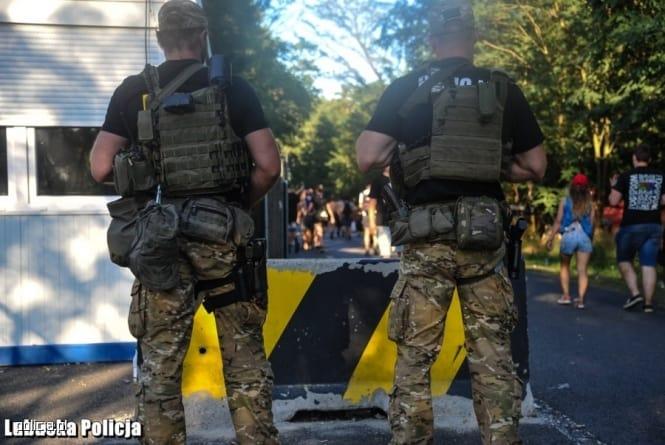 Policja podsumowała festiwal Owsiaka. Ogromna skala przestępczości!