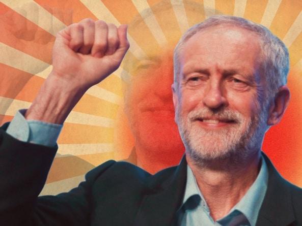 Jeremy Corbyn zaprasza przedstawicielkę skrajnej lewicy