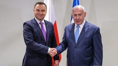 "[TYLKO U NAS] Pikieta pod Ambasadą Izraela: ""Konferencja Antypolska"""