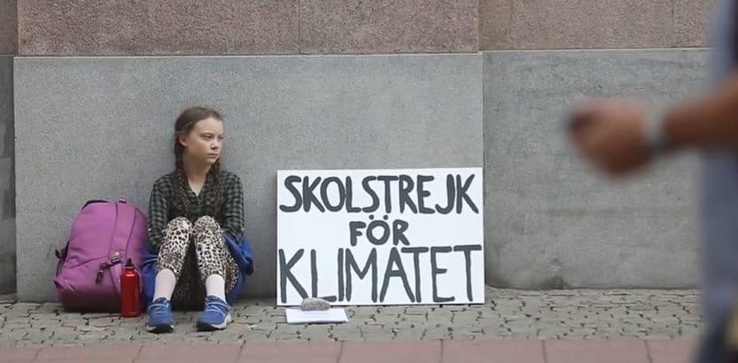 Greta Thunberg zastrzega swoje nazwisko jako znak towarowy