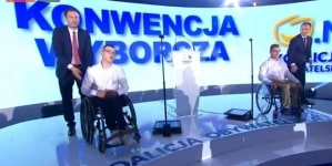 Niepełnosprawni, którzy protestowali w Sejmie wystartują w wyborach samorządowych z list opozycji