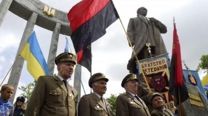 Ukraińcy oddali cześć banderowskim zbrodniarzom! Przez Kijów przeszedł Marsz Chwały UPA
