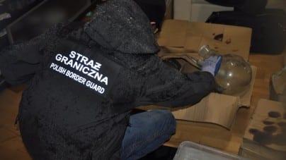 Imigranci w Polsce założyli… fabrykę amfetaminy