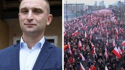 """Bąkiewicz: """"Rok 2019 to był dobry rok dla  Stowarzyszenia Marsz Niepodległości"""""""