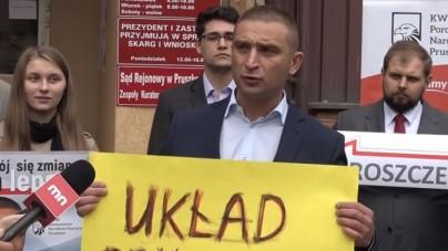 """Kandydat na prezydenta zapowiada """"zwinięcie układu pruszkowskiego"""" i przedstawia sztab ekspertów"""