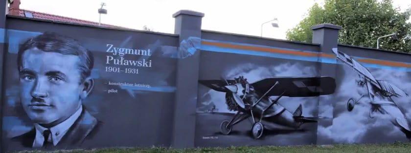Szczecin: W stulecie niepodległości odsłonięto mural z polskimi wynalazcami i naukowcami [WIDEO]