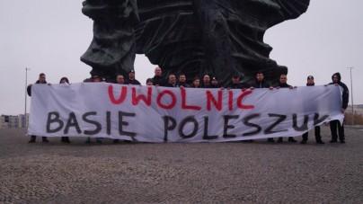 ONR solidarny z Basią Poleszuk!