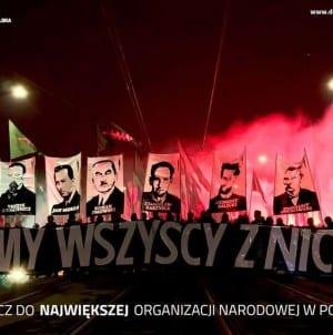 Akcja rekrutacyjna Młodzieży Wszechpolskiej! Dołącz do największej organizacji nacjonalistycznej!