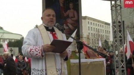 Kazanie ks. Tomasza Jochemczyka przed Marszem Niepodległości 2018 [WIDEO]