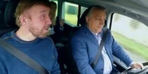 Ten film podbija internet! Premier Węgier prowadzi auto, pasażerem jest… Chuck Norris!