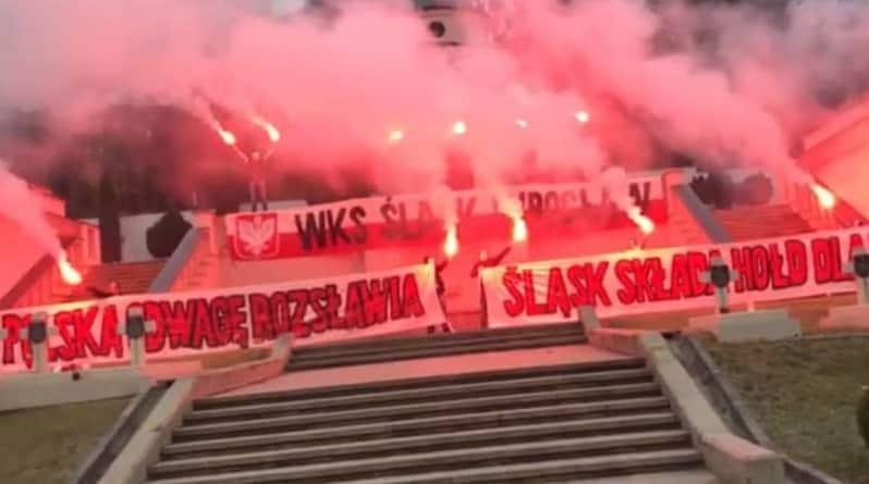 """Ukraińskie służby specjalne ścigają kibiców Śląska Wrocław. """"Nazwali Lwów polskim miastem"""""""