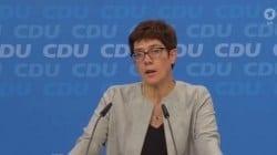 Annegret Kramp-Karrenbauer została nową przewodniczącą CDU