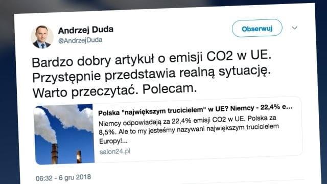 """Prezydent poleca artykuł o """"robieniu ekonomicznej las*i Niemcom"""""""