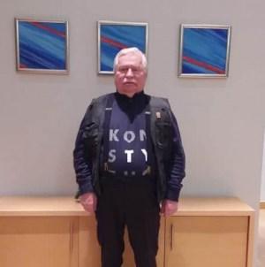 Wałęsa wpada w histerię i na Twitterze wydaje zakaz Andrzejowi Dudzie