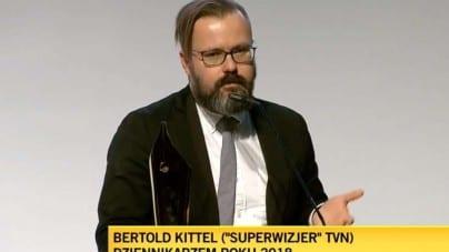 """Grand Press dla dziennikarzy: """"Naziole z TVN dostali nagrodę dla lewackich dziennikarzy w POLIN"""""""