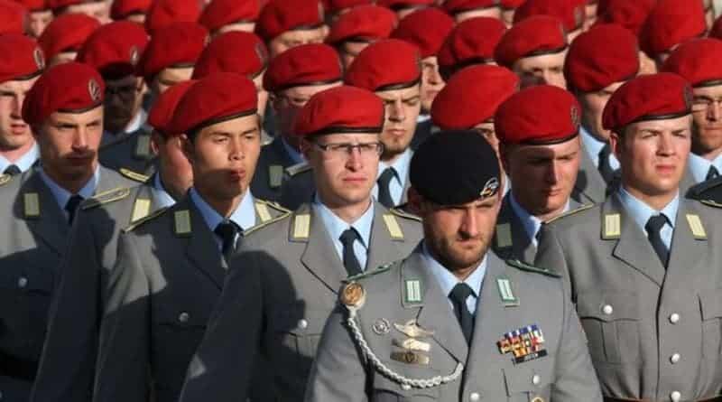 Niemcy: Hajlowanie i przemoc w elitarnej jednostce Bundeswehry