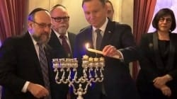 """Duda świętuje z Żydami w Pałacu Prezydenckim. """"Kiedy uroczysty początek ramadanu?"""""""