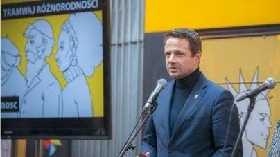 To dzieje się naprawę! Lewacka propaganda tramwajowa w Warszawie
