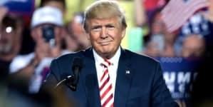 Donald Trump zdeterminowany. Przemówi o murze dzielącym Meksyk i USA