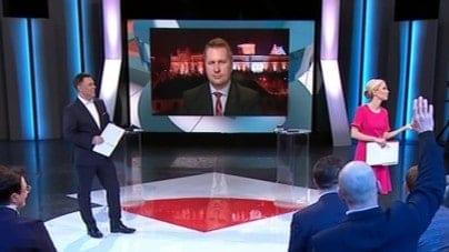 Zagorzała awantura w Studio Polska o cenzurę i Kościół