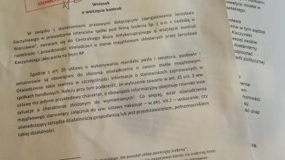 Partia Razem chce skontrolować oświadczenia majątkowe Jarosława Kaczyńskiego